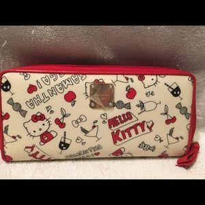 Samantha Thavasa Hello Kitty long zip wallet